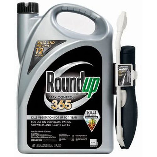 Roundup Max Control 365 Ready-to-Use Comfort Wand Sprayer, 1.33-Gallon