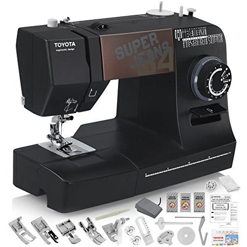 Jeans sewing machine